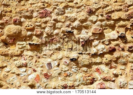 Ancient stone wall texture,  architecture background
