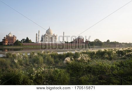 Taj Mahal Ancient Alley Agra Mughal Temple