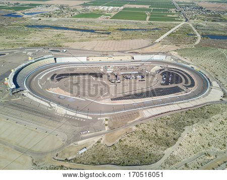 January 21, 2017 - Avondale, Arizona, USA:  The Monster Energy Cup Series practice during the Phoenix Open Test at Phoenix International Raceway in Avondale, Arizona.