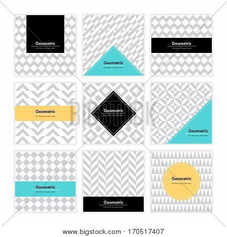 Geometric Texture Set 005