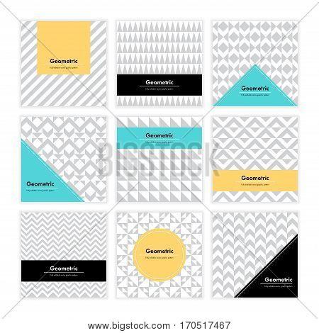 Geometric Texture Set 006