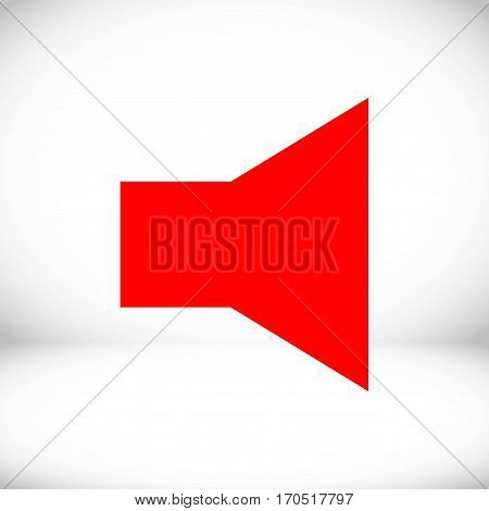 volume icon stock vector illustration flat design