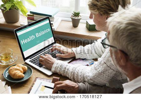 Healthy Life Getting Fit Balance Vitality Wellness