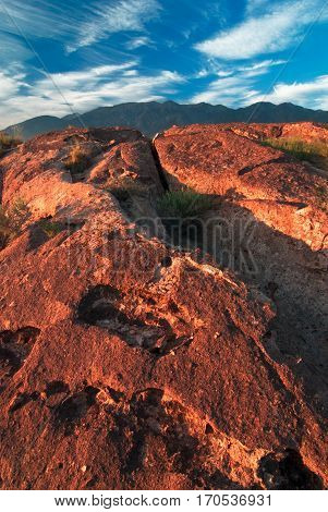 The Volcanic Table Lands is a BLM owned wilderness near Bishop California
