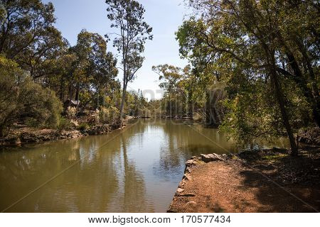 A River Flowing Through John Forrest National Park