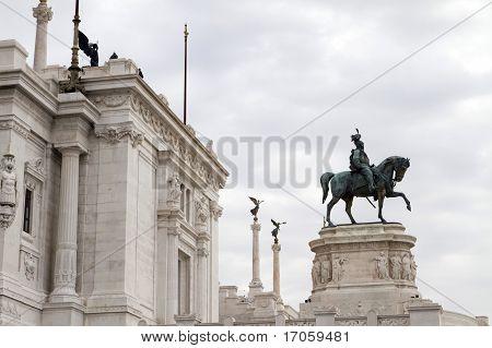 Roman Parliament Entrance Side