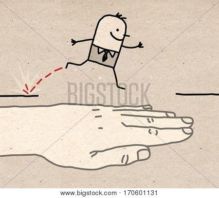 Big hand - help