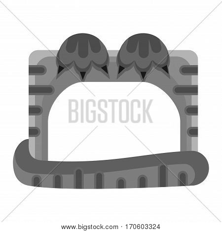 Cute happy birthday border photo frame vector illustration. Birthday design baby celebration. Cartoon child picture album card decoration.