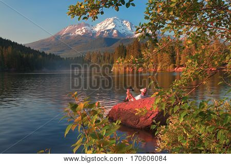 Mount Shasta Is a Volcano in Northern Calfiornia