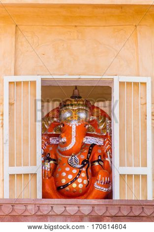 Shrine To Ganesh