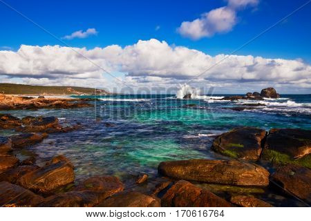 Redgate Beach is located in the South West of Western Australia near the coastal town of Margaret River.