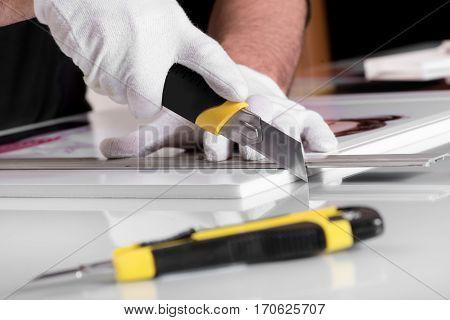 Cutting Foamex Pvc Foam Panel
