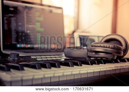 Home studio Computer music making computer programming