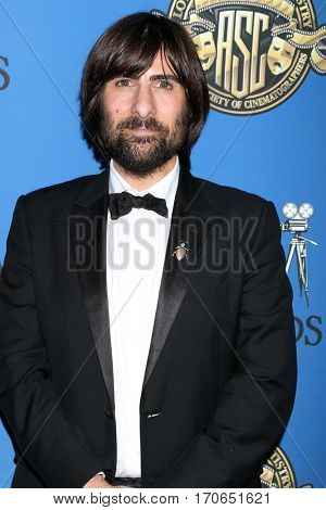 LOS ANGELES - FEB 4:  Jason Schwartzman at the 31st Annual American Society Of Cinematographers Awards at Dolby Ballroom at Hollywood & Highland on February 4, 2017 in Los Angeles, CA