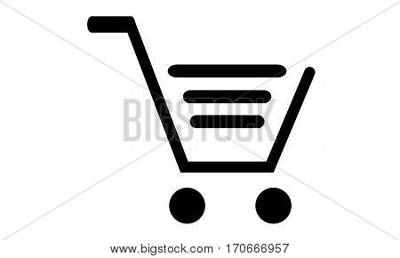Pictogram - Trolley, Cart, Shopping cart, Shopping trolley, Supermarket - Object Icon Symbol