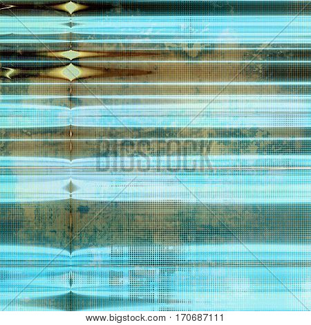 Old grunge textured background. With different color patterns: yellow (beige); brown; gray; blue; white; cyan