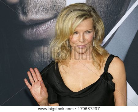 Kim Basinger at the Los Angeles premiere of 'Fifty Shades Darker' held at the Theatre at Ace Hotel in Los Angeles, USA on February 2, 2017.