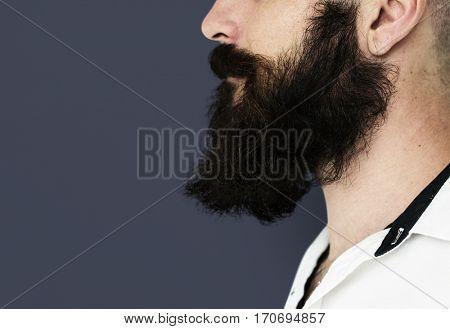 Man Facial Hair Moustache Beard