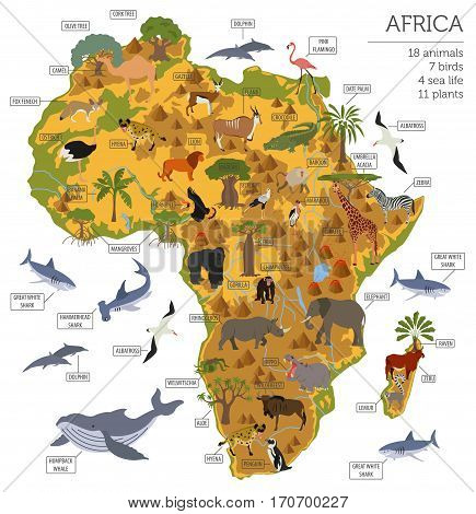 Geography Isometric Africa_1