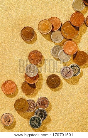 British Pound coins currency
