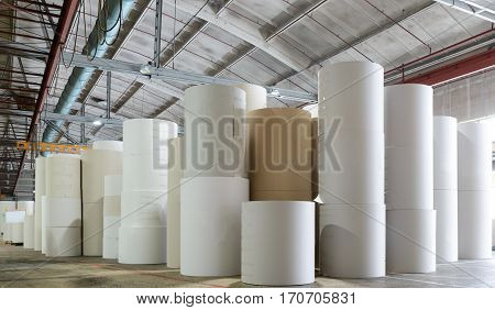 for the production of cardboard packaging paper factory