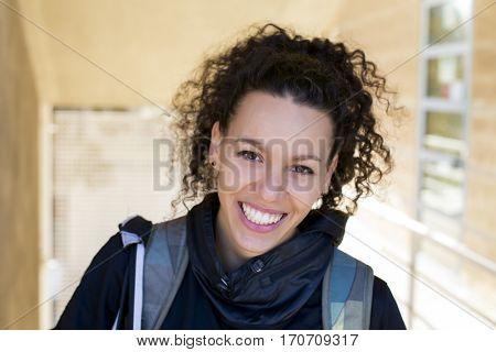 Portrait of a spanish sportive woman
