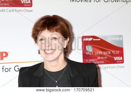 LOS ANGELES - FEB 6:  Frances Fisher at the AARP Movies for Grownups Awards at Beverly Wilshire Hotel on February 6, 2017 in Beverly Hills, CA