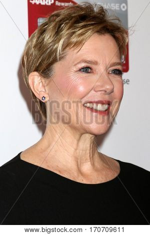 LOS ANGELES - FEB 6:  Annette Bening at the AARP Movies for Grownups Awards at Beverly Wilshire Hotel on February 6, 2017 in Beverly Hills, CA