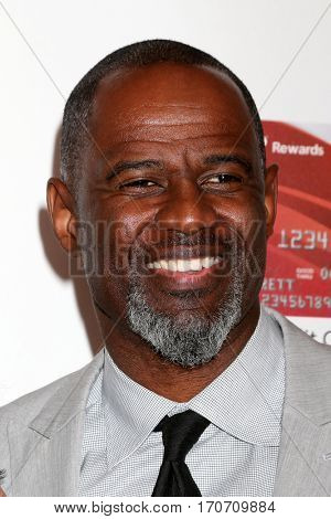 LOS ANGELES - FEB 6:  Brian McKnight at the AARP Movies for Grownups Awards at Beverly Wilshire Hotel on February 6, 2017 in Beverly Hills, CA
