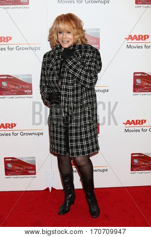LOS ANGELES - FEB 6:  Ann-Margret at the AARP Movies for Grownups Awards at Beverly Wilshire Hotel on February 6, 2017 in Beverly Hills, CA
