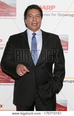 LOS ANGELES - FEB 6:  Gil Birmingham at the AARP Movies for Grownups Awards at Beverly Wilshire Hotel on February 6, 2017 in Beverly Hills, CA