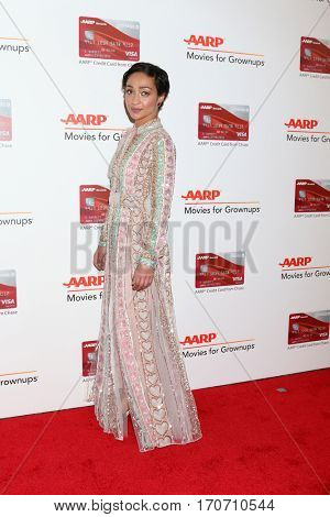 LOS ANGELES - FEB 6:  Ruth Negga at the AARP Movies for Grownups Awards at Beverly Wilshire Hotel on February 6, 2017 in Beverly Hills, CA