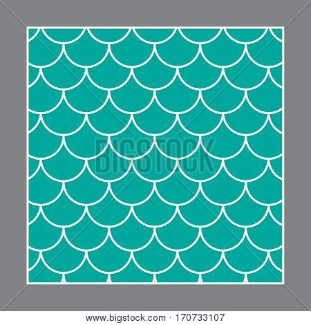 Fish pattern vector. Fish background vector texture