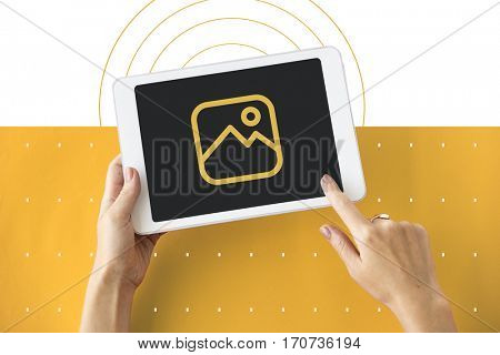 Gallery Photography Photo Icon Symbol