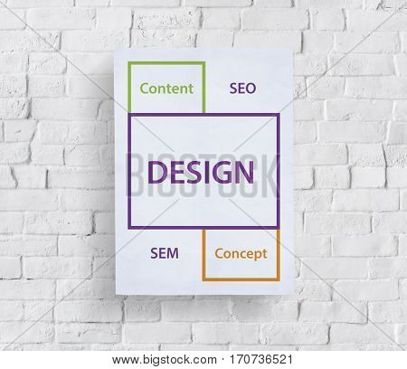 Design SEO Content Word Boxes
