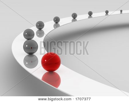 Very beautiful three-dimensional illustration figure. Structure. 3d poster
