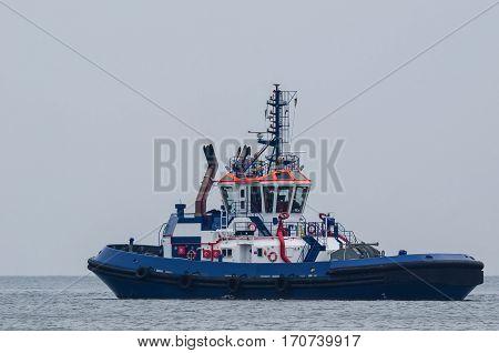 TUG - Big tug on a calm sea