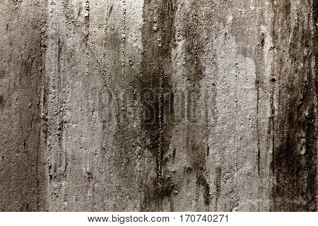 Grunge wall texture background with dirt, cracks and rust