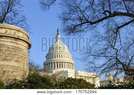 The United States Capitol - Washington DC USA