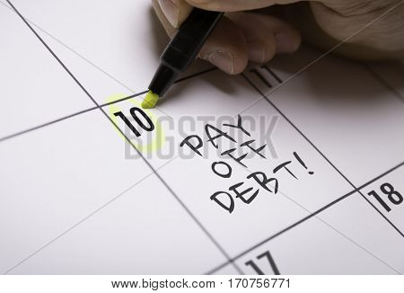 Pay Off Debt!