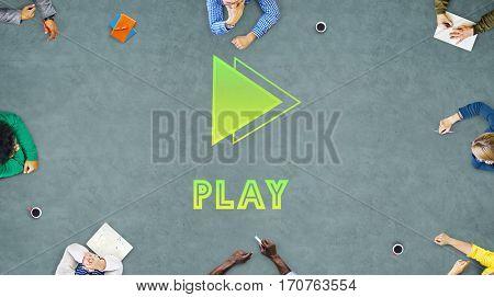 Play Joy Leisure Recreation Amusement Fun Concept