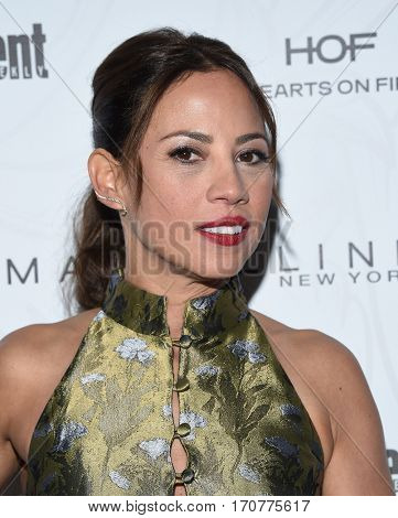 LOS ANGELES - JAN 28:  Elizabeth Rodriguez arrives to the Entertainment Weekly Pre Sag Awards Celebration on January 28, 2017 in Hollywood, CA