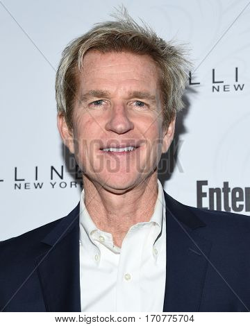 LOS ANGELES - JAN 28:  Matthew Modine arrives to the Entertainment Weekly Pre Sag Awards Celebration on January 28, 2017 in Hollywood, CA