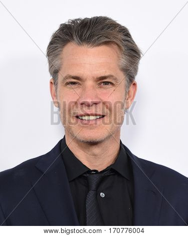 LOS ANGELES - FEB 01:  Timothy Olyphant arrives to the