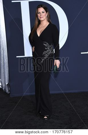 LOS ANGELES - FEB 02:  Marcia Gay Harden arrives to the