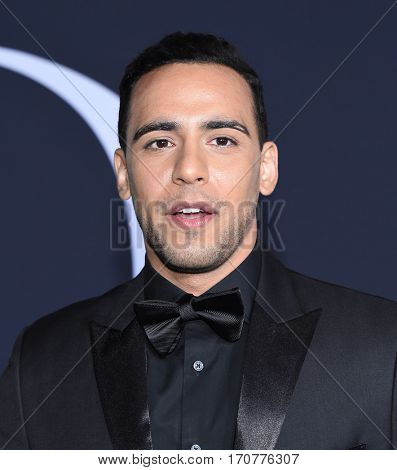 LOS ANGELES - FEB 02:  Victor Rasuk arrives to the