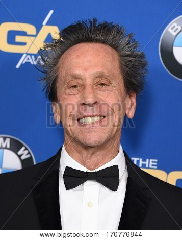 LOS ANGELES - FEB 04:  Brian Grazer arrives for the 69th Annual DGA Awards on February 4, 2017 in Beverly Hills, CA