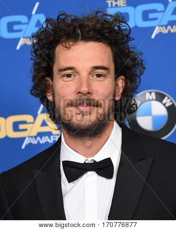 LOS ANGELES - FEB 04:  Garth Davis arrives for the 69th Annual DGA Awards on February 4, 2017 in Beverly Hills, CA