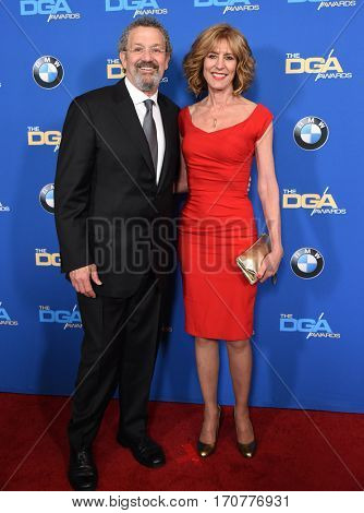 LOS ANGELES - FEB 04:  Christine Lahti and Thomas Schlamme arrives for the 69th Annual DGA Awards on February 4, 2017 in Beverly Hills, CA
