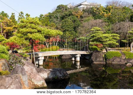 Kokoen Garden in autumn season